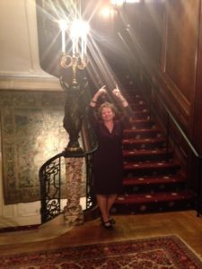 At the Cosmos Club