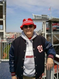 Dad at Nats